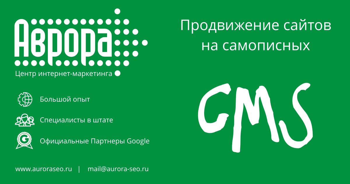Продвижение сайта на самописной CMS
